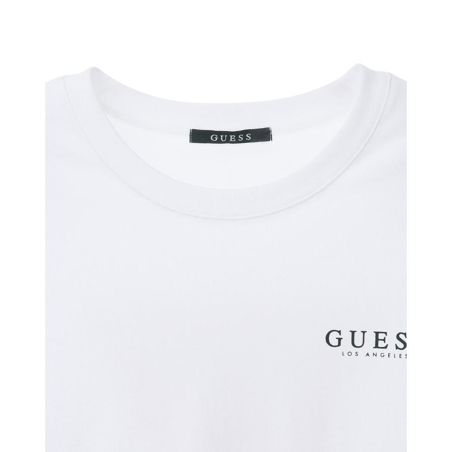 게스(GUESS) 남성 기획 등판 ▽ 루즈핏 반팔 티셔츠