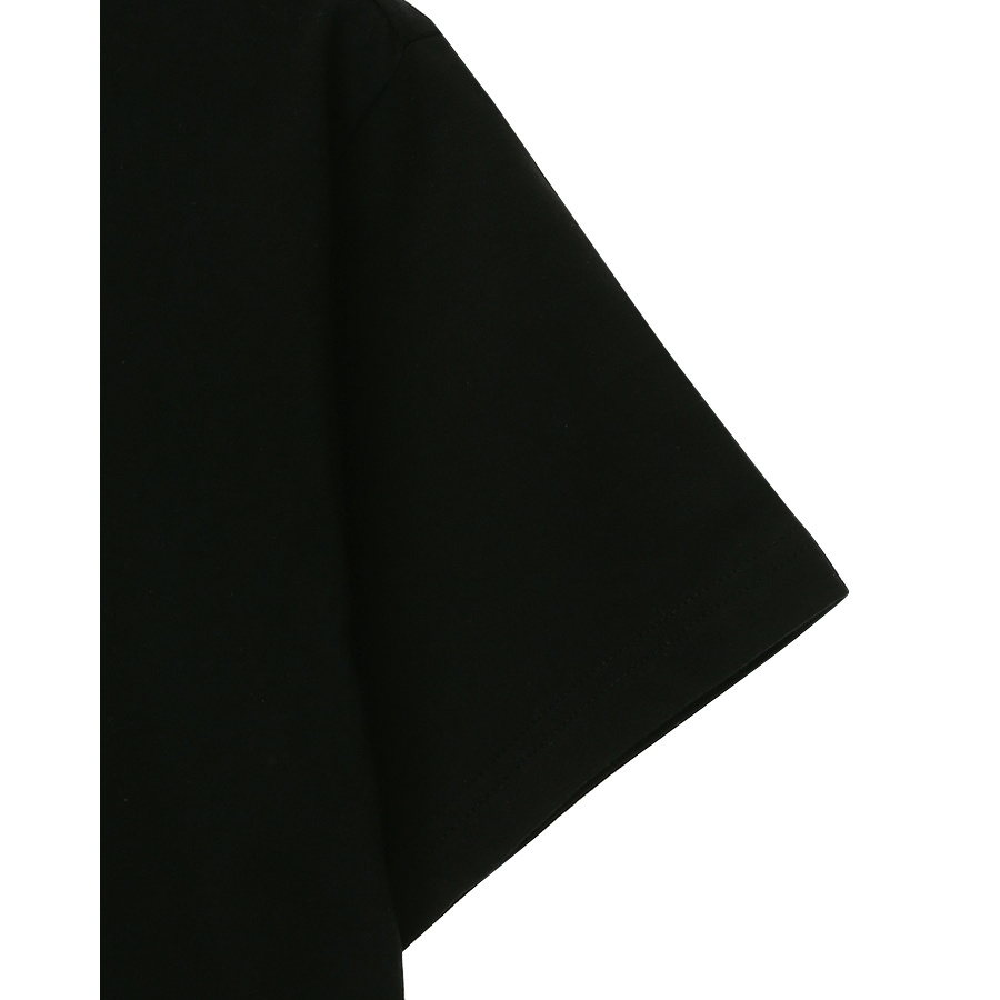 게스(GUESS) 남녀공용 삼각 네온 PVC 반팔티