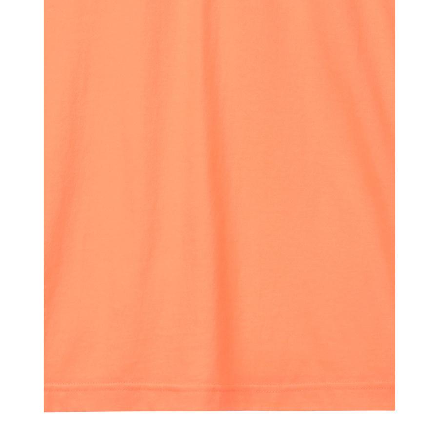 게스(GUESS) 남녀공용 삼각 그라데이션 PVC 세미오버핏 반팔티