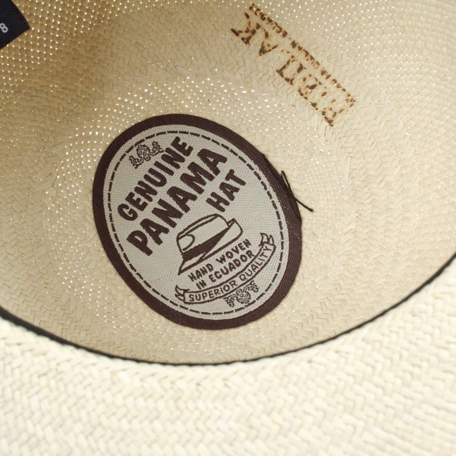 제누이오(GENUIO) [Made in Italy] The Bella 벨라 내츄럴 파나마햇