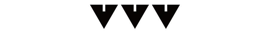 브이브이브이(VVV) 모노그램 슬리브리스 탑