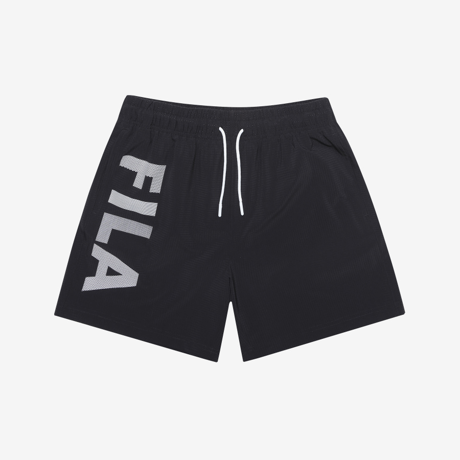 휠라(FILA) [AQUA TIME] 5부 팬츠_레귤러핏 (FS2TRB2A61MBLK)
