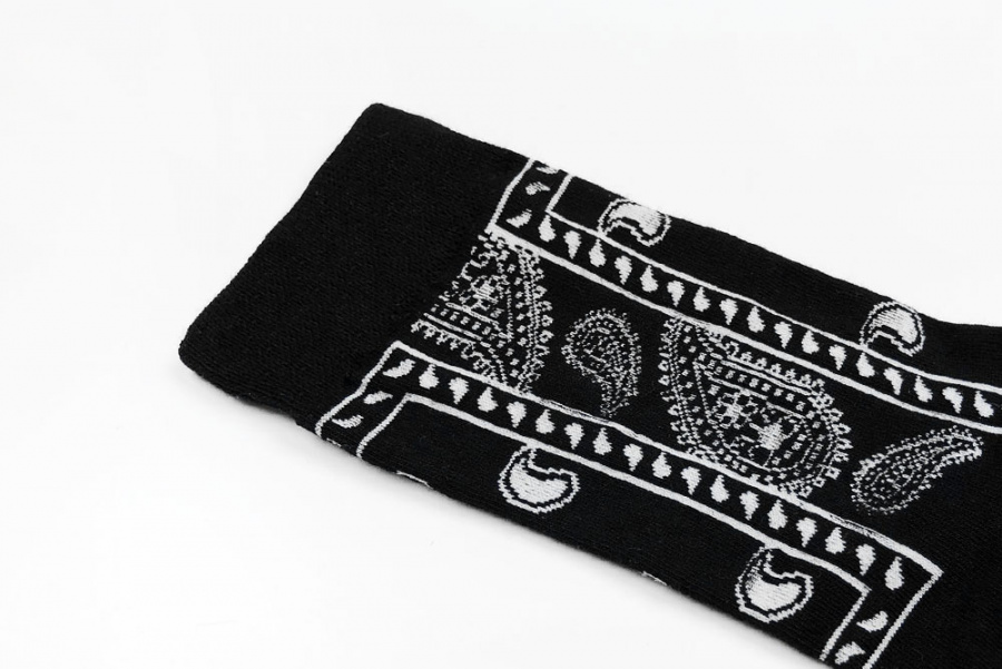 메시지인더삭스(MESSAGE IN THE SOCKS) BANDANA_BK