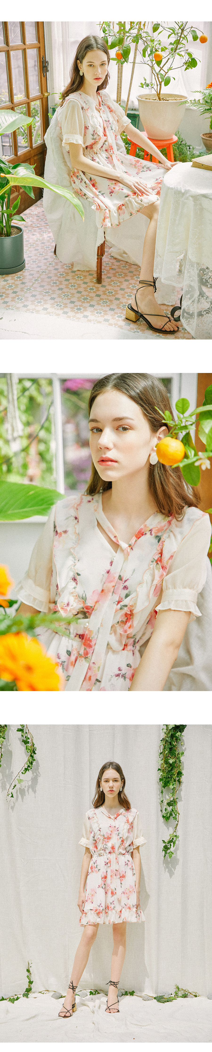 하케쉬(HACKESCH) Love Flower Dress_Pansy