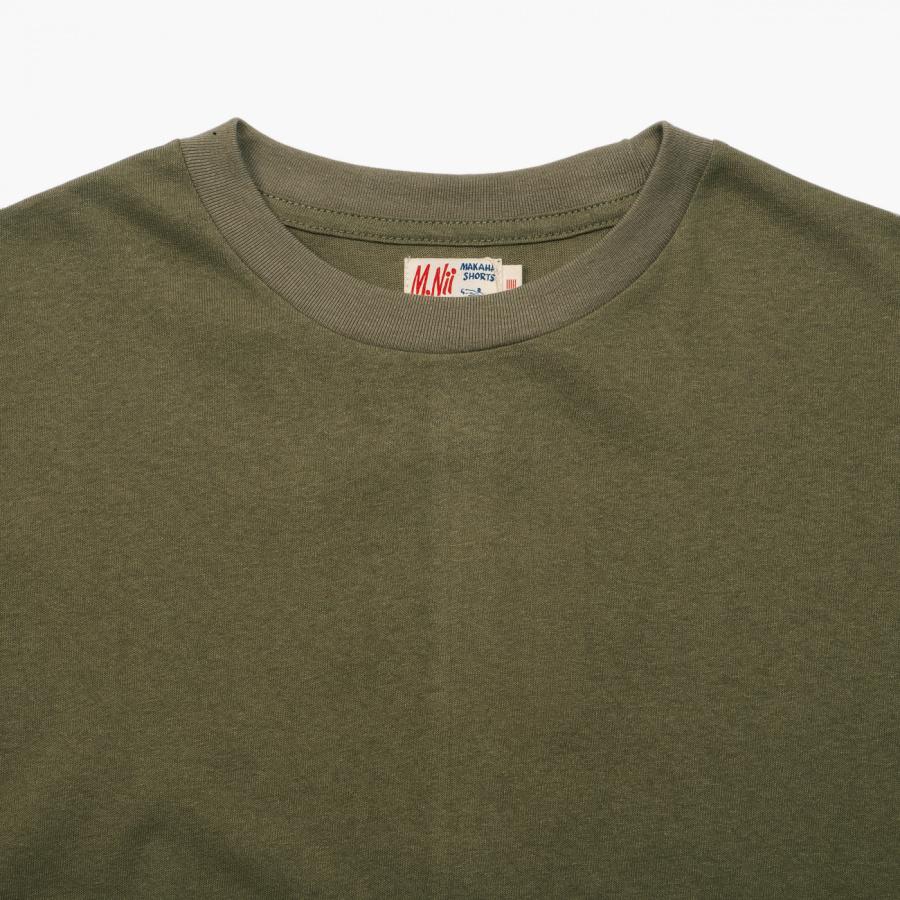 엠니(M.Nii) ALL AROUND T-Shirt / Khaki