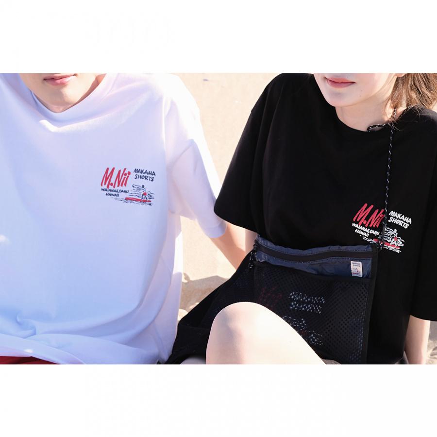 엠니(M.Nii) Summer Logo T-Shirt / White