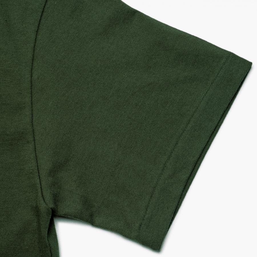 엠니(M.Nii) ALL AROUND Logo T-Shirt / Green