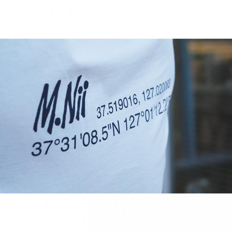 엠니(M.Nii) Summer Lettering T-Shirt / Ivory