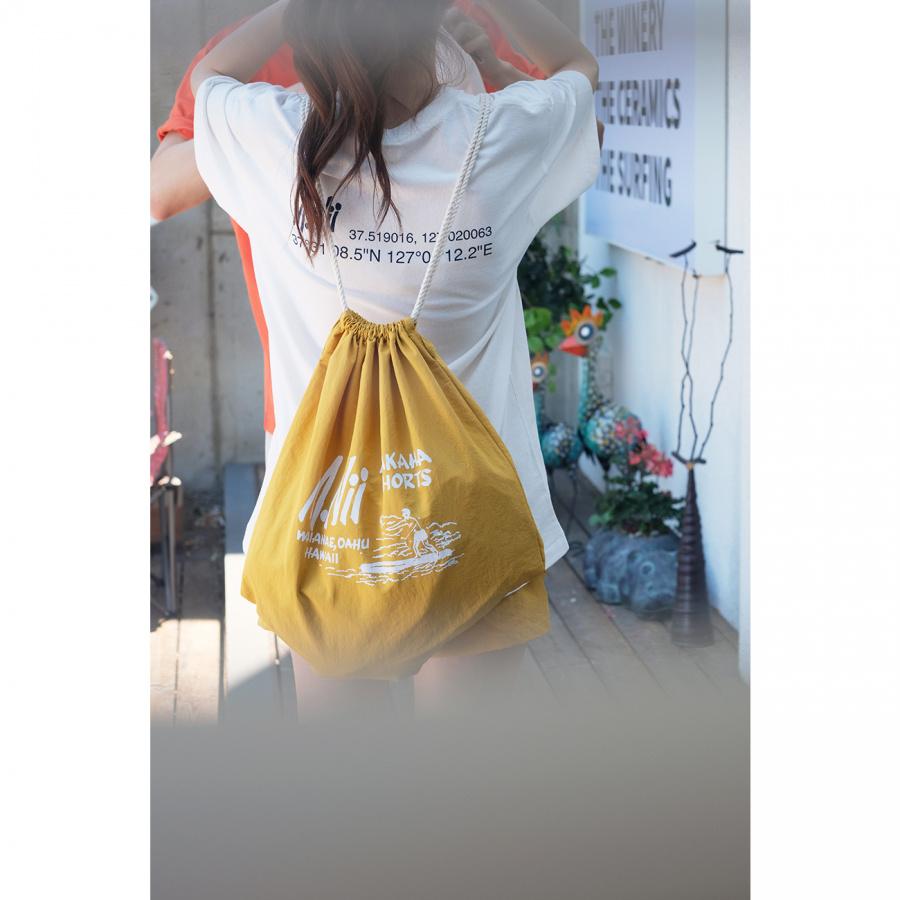 엠니(M.Nii) M.Nii Logo Bag / Mustard