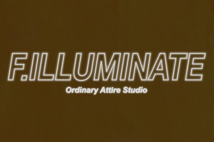 필루미네이트(FILLUMINATE) 유니섹스 스카치 로고 티-블랙