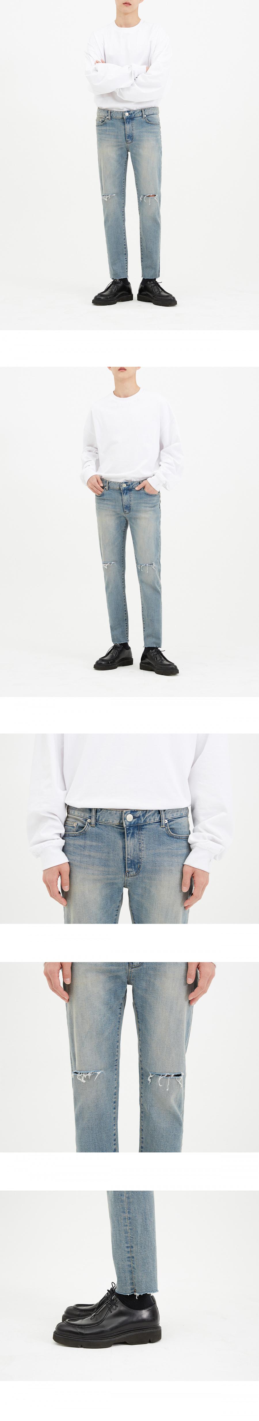 86로드(86ROAD) 1713 slim cutting jeans