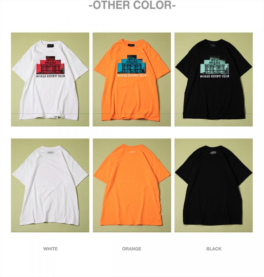 캐스퍼존아이바(CASPERJOHNAIVER) 나이트 스트렉쳐 오버 티셔츠(화이트)