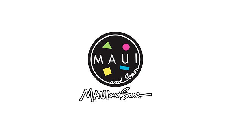 마우이앤선즈(MAUI&SONS) 서프라이프 래시가드 여자 [블랙]