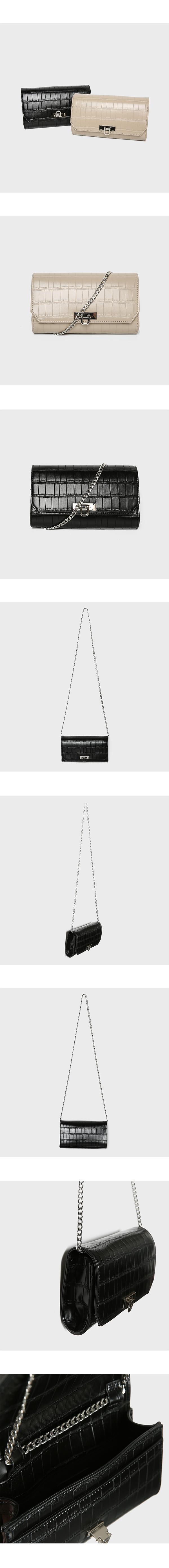 미쏘(MIXXO) 미니 엣지 숄더백 [리오더] MIAAK931SM
