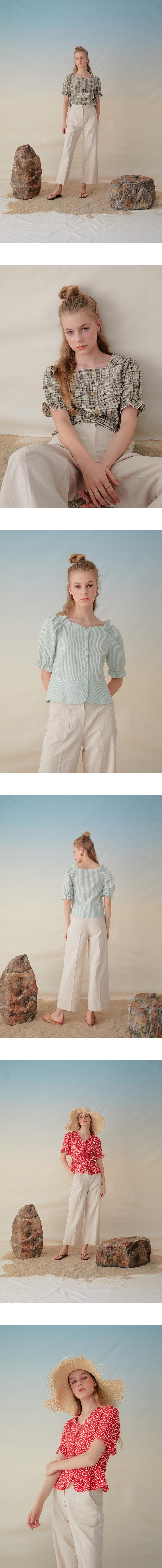몬츠(MONTS) 953 stitch linen pants (beige)