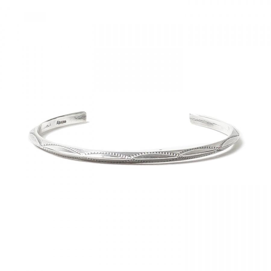 아티스(ATEASE) Simple Navajo Bracelet Silver