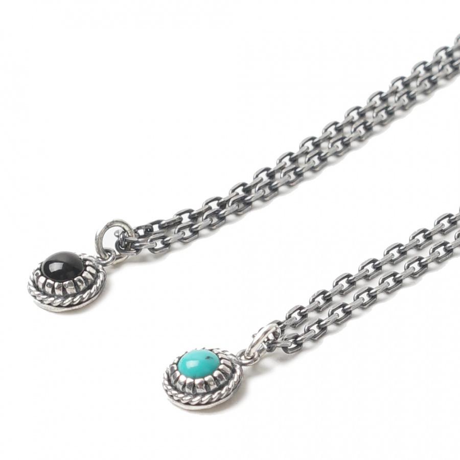 아티스(ATEASE) Stone Navajo Necklace Turquoise