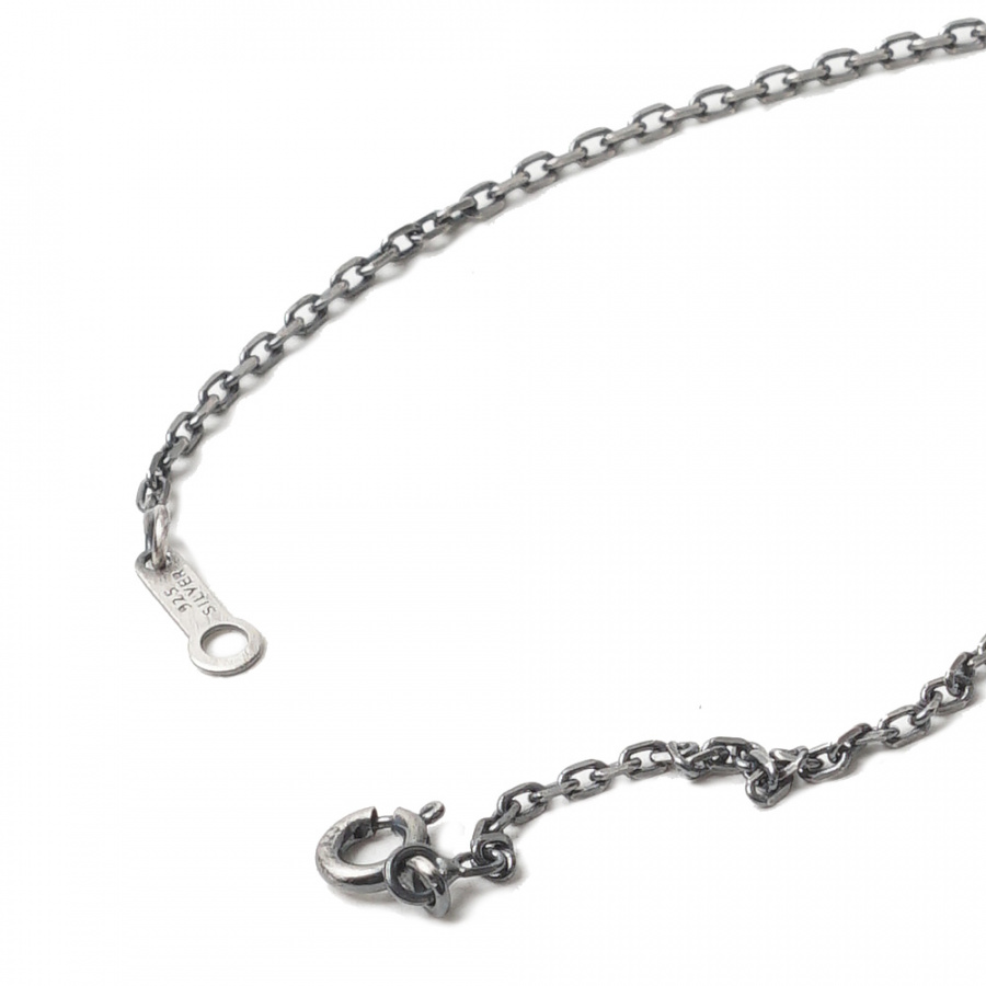 아티스(ATEASE) Feather Coin Necklace Silver