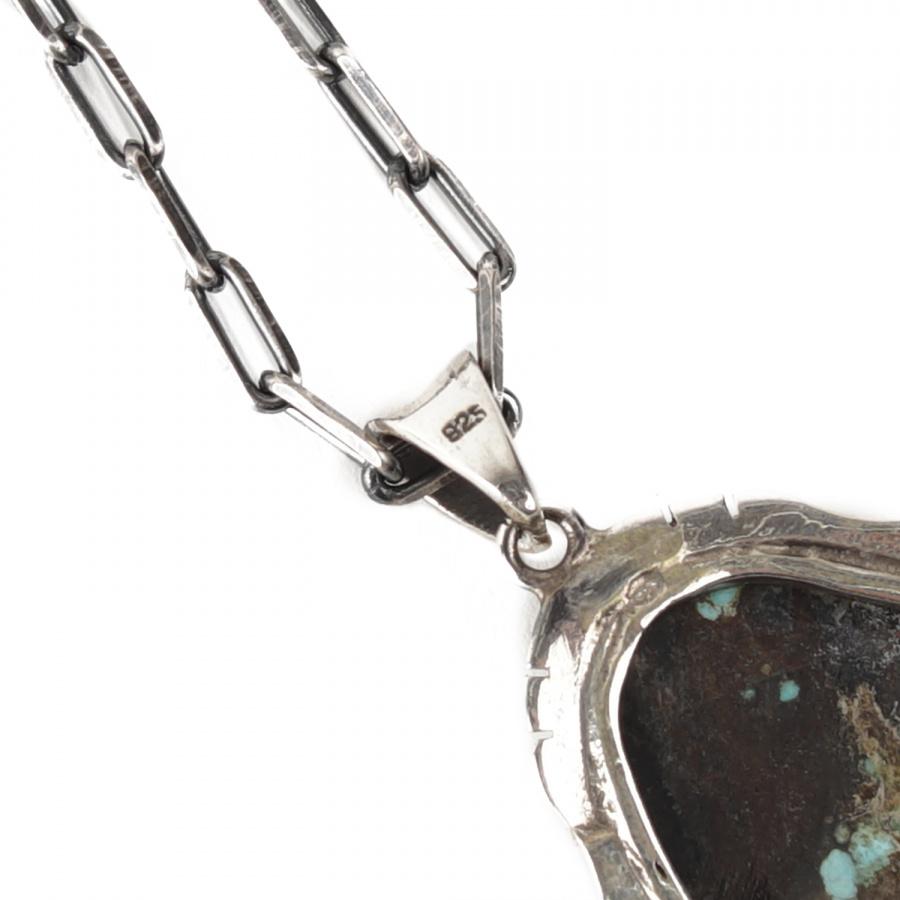 아티스(ATEASE) Gunjyo By Atease 40mm American Turquoise Necklace XL