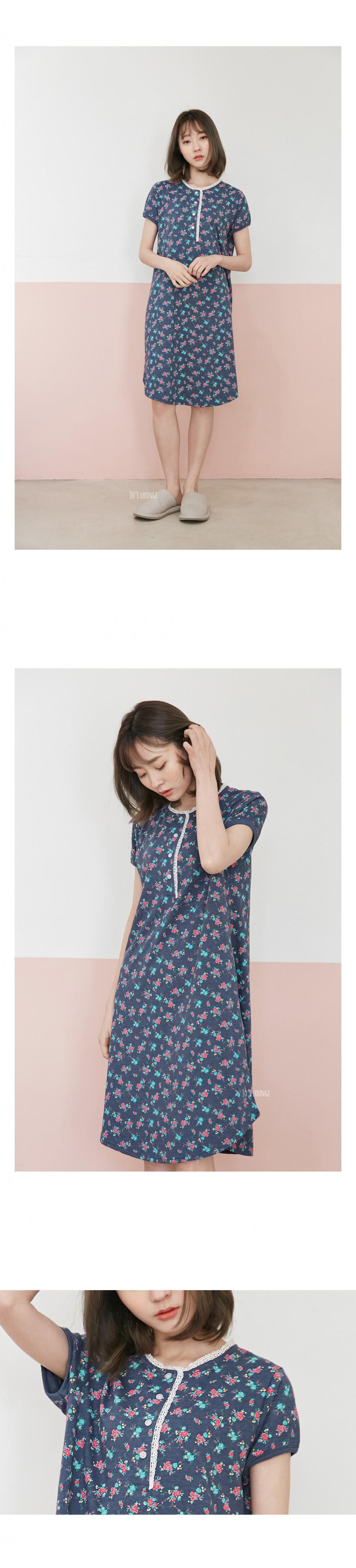 조스라운지(JOSLOUNGE) [여성] 데이지 반팔 원피스
