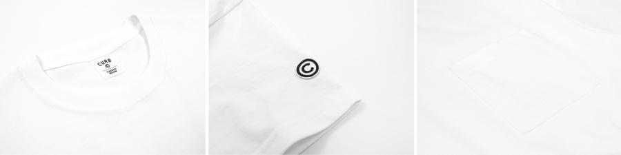 커브(CURB) 베이직 포켓 티 /2팩