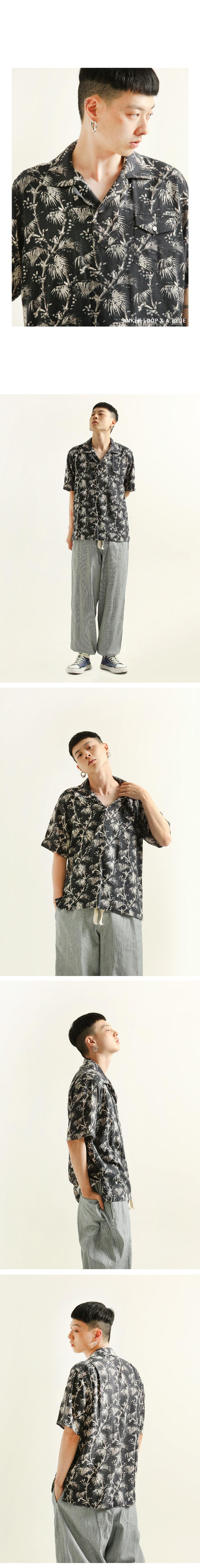 싱커루프(SINKERLOOP) 몰디브 모히토 티셔츠 아이보리