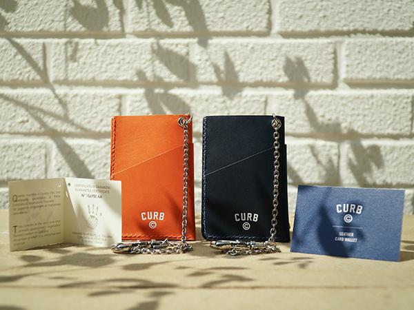 커브(CURB) 랲 카드지갑 /오렌지