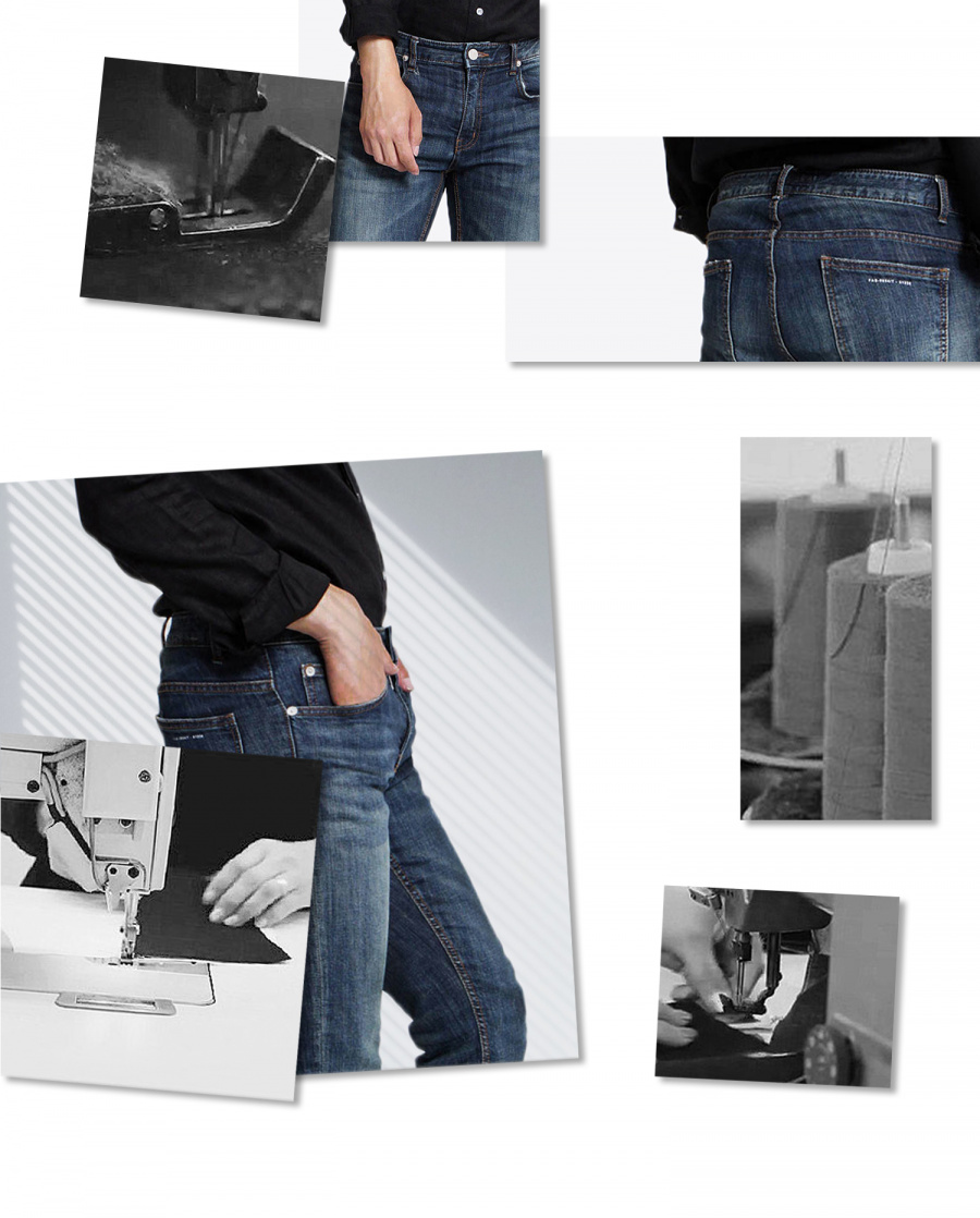 페이탈리즘(FATALISM) Tydi crop jeans #0064