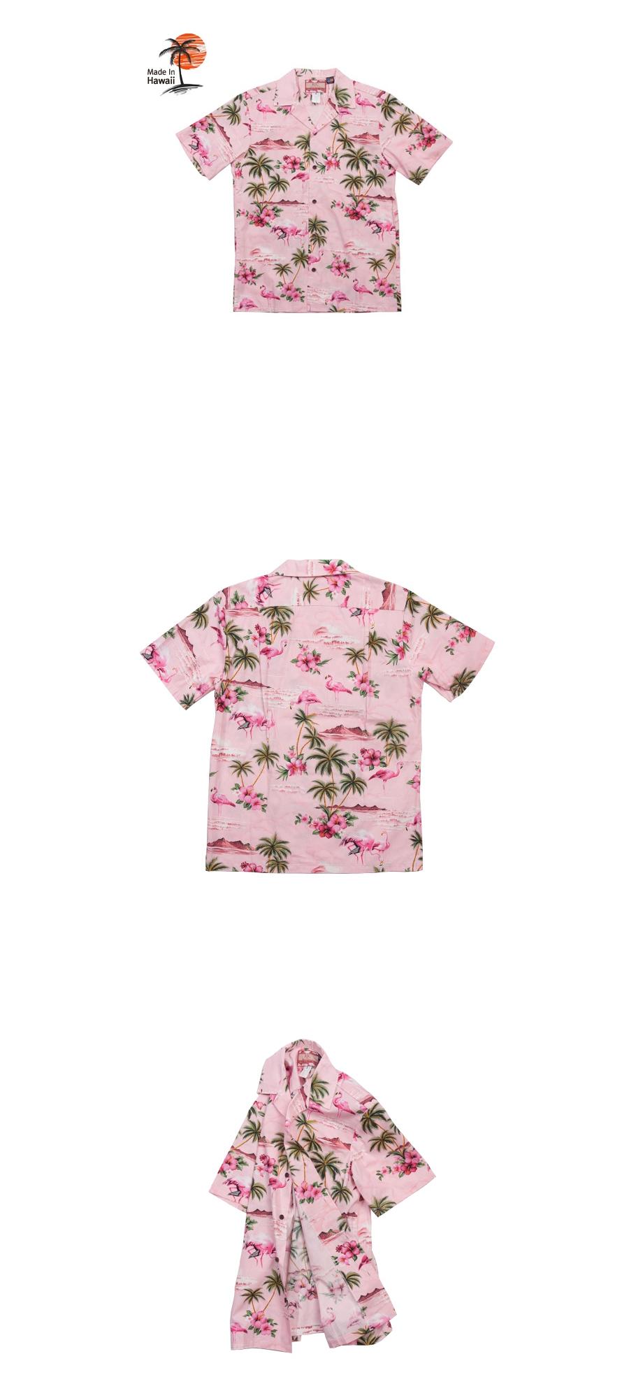 로버트제이씨 하와이(ROBERT J.C HAWAII) 102C.275 Hawaii Shirts [Pink]