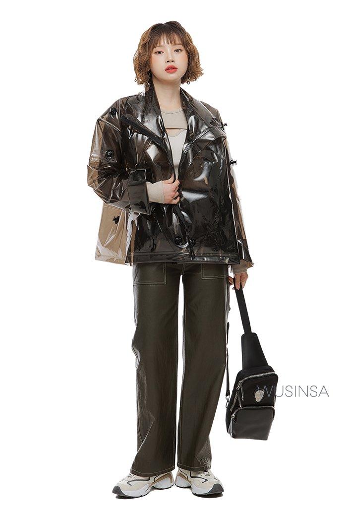 유니크한 재킷 image