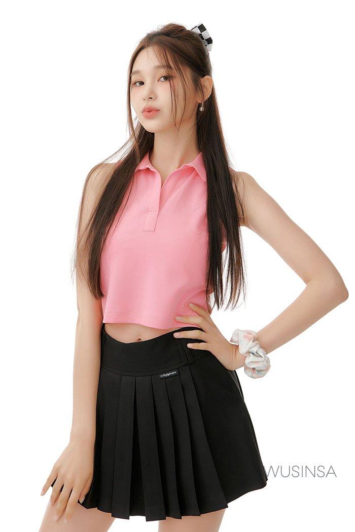 핑크빛 코디 image