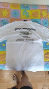 그루브라임(GROOVE RHYME) RADIO PRINT OVER FIT T-SHIRTS (WHITE) [GTS010H23WO] 후기