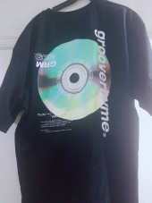 그루브라임(GROOVE RHYME) ALBUM PRINT OVER FIT T-SHIRTS (WHITE) [GTS013H23WO] 후기