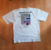 그루브라임(GROOVE RHYME) SURFING MAN PRINT OVER FIT T-SHIRTS (WHITE) [GTS014H23WH] 후기
