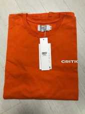 크리틱(CRITIC) BACKSIDE LOGO T-SHIRT(WHITE)_CTONURS11UC2 후기