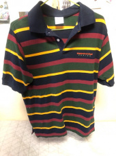 디스이즈네버댓(THISISNEVERTHAT) DSN Striped Jersey Polo Olive/Grey 후기