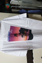 커버낫(COVERNAT) S/S ALOHA SUNSET TEE BLACK 후기