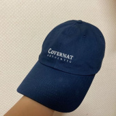 커버낫(COVERNAT) AUTHENTIC LOGO CURVE CAP DENIM BLACK 후기