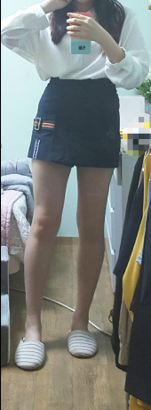 로맨틱크라운(ROMANTIC CROWN) GNAC Skirt Short_Orange 후기