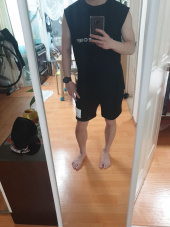 라모드치프(LAMODECHIEF) LAMC OFF LICENCE BANDING SHORT PANTS (BLACK) 후기