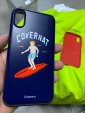 커버낫(COVERNAT) SURFER MAN LOGO I-PHONE X CASE BLACK 후기