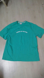 론론(RONRON) Round lettering over fit T-shirts mint 후기