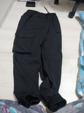낫포너드(NOT4NERD) [21SS] Cargo Jogger Slacks Pants - Black 후기