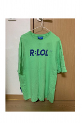 알엘오엘(R:LOL) (TS-19303) BASIC T-SHIRT LIGHT GREEN 후기