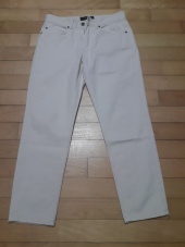 퍼스트플로어(FIRSTFLOOR) EASYGOING CROP PANTS (regular fit  natural color cream jeans) 후기