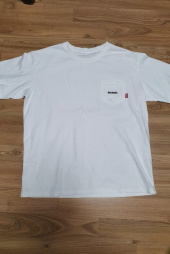 매드마르스(MADMARS) NORMAL POCKET T-SHIRT_WHITE 후기