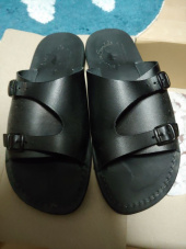 예루살렘 샌들(JERUSALEM SANDALS) NO.1016 SETH BLACK 후기