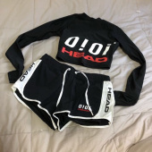 헤드(HEAD) [HEADX5252  by o!oi ] CROP RASH GUARD_JOQJH19204BKX 후기