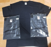 프룻오브더룸(FRUIT OF THE LOOM) [세트구성] (REGULAR FIT) 210g WAPPEN T-SHIRTS 3PACK BLACK 후기