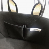 언폴드(UNFOLD) Two tone strap bag - black 후기